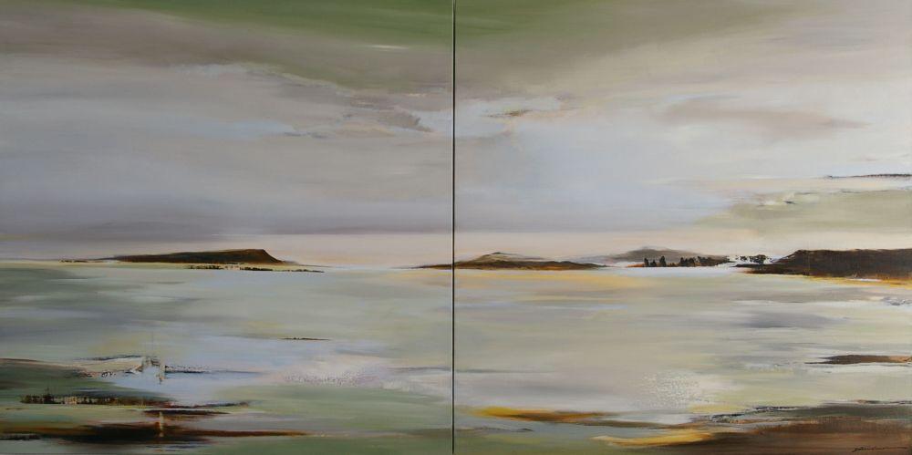 Greet Steenland, Silent Awareness, 120x240cm